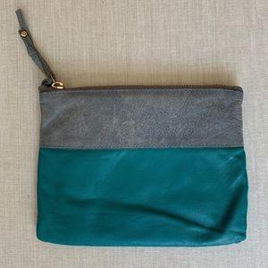 Gorjana Leather Zip Pouch